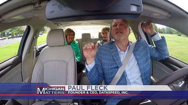 Paul Fleck demonstration driverless car capabilities