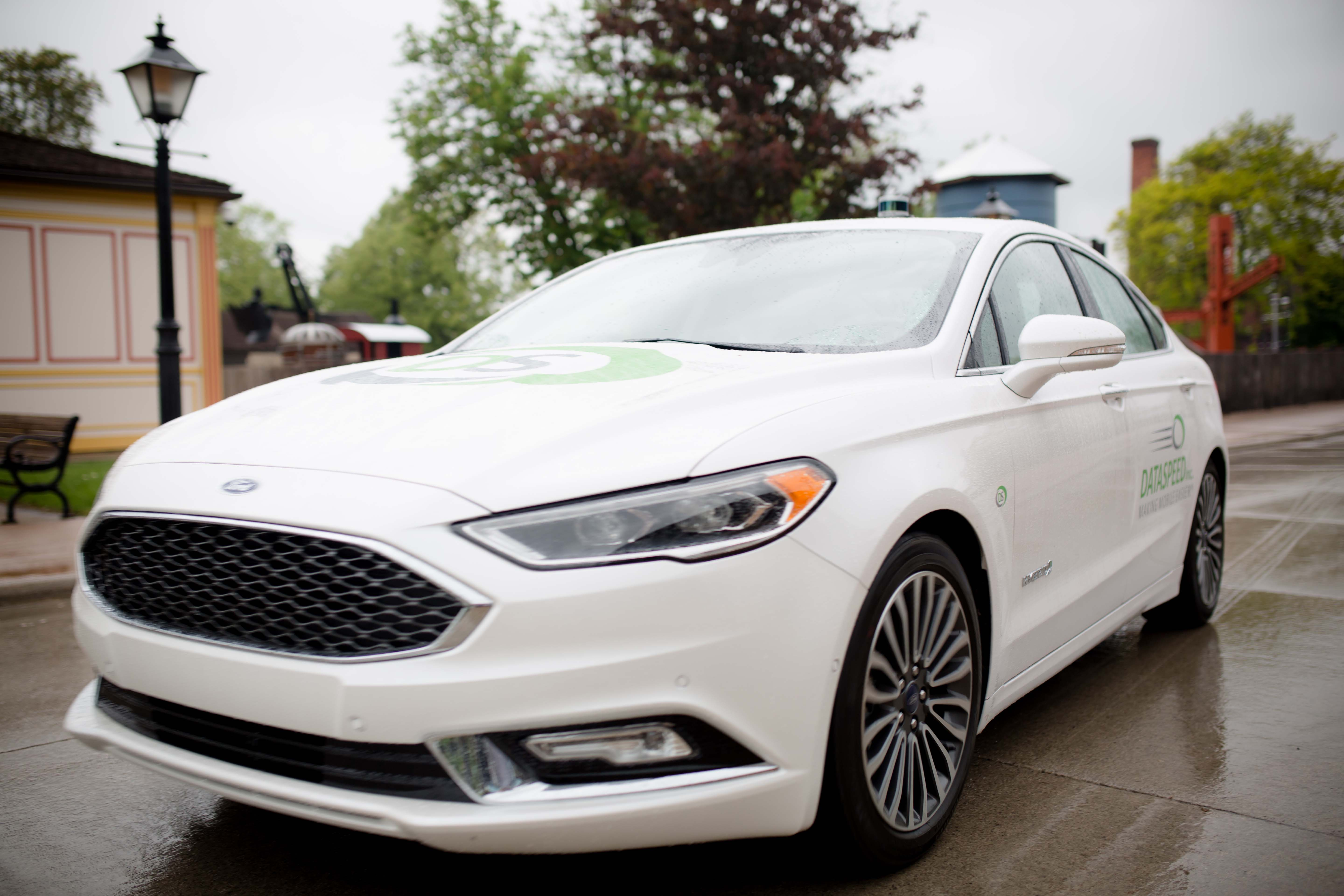 Ford Fusion dataspeed at greenfield village