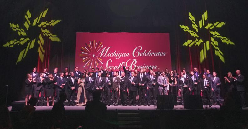 Michigan celebrates small business awards 2017