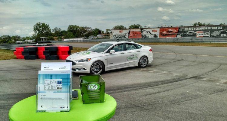 Dataspeed autonomous vehicle demonstration