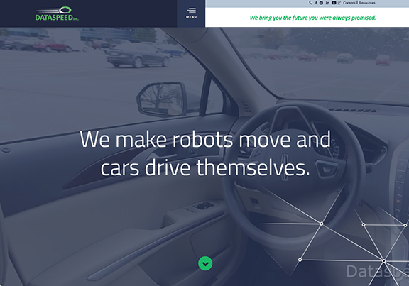 We make robots move and cars drive themselves