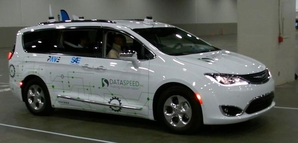 Dataspeed Chrysler Pacifica Pave