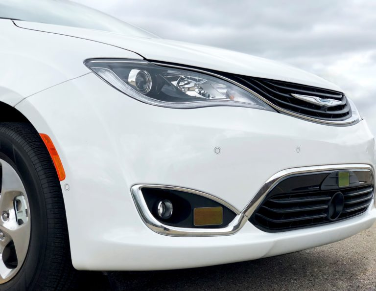 Dataspeed Chrysler Pacifica with Cepton LiDARS