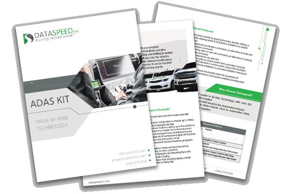 the adas kit  an autonomous vehicle by