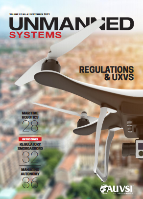 AUVSI Unmanned Systems magazine_September