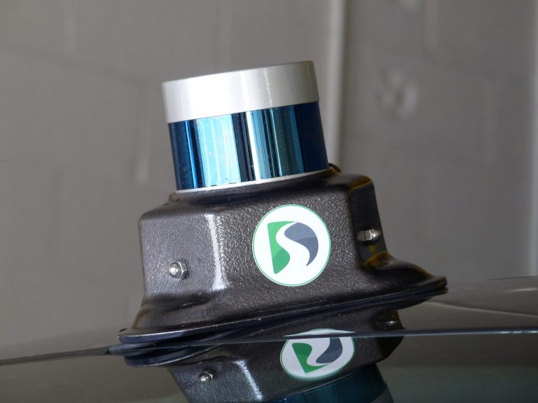 Velodyne Installed in Magnetic LiDAR Mount