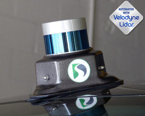 Velodyne Installed on Magnetic Lidar Mount