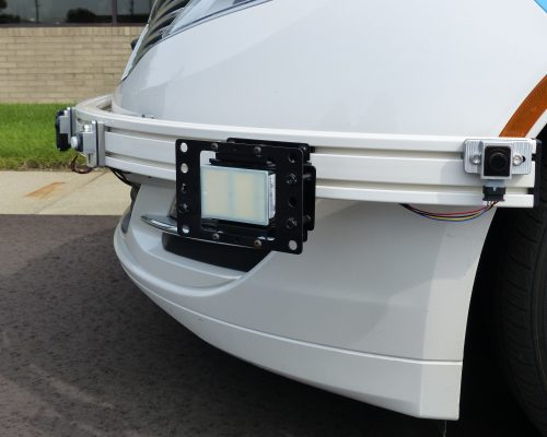 RADAR Bumper Bar Mounting