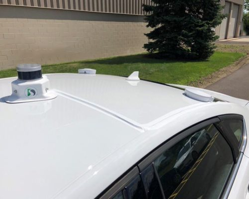 GPS Roof Mount and Magnetic Lidar Mount